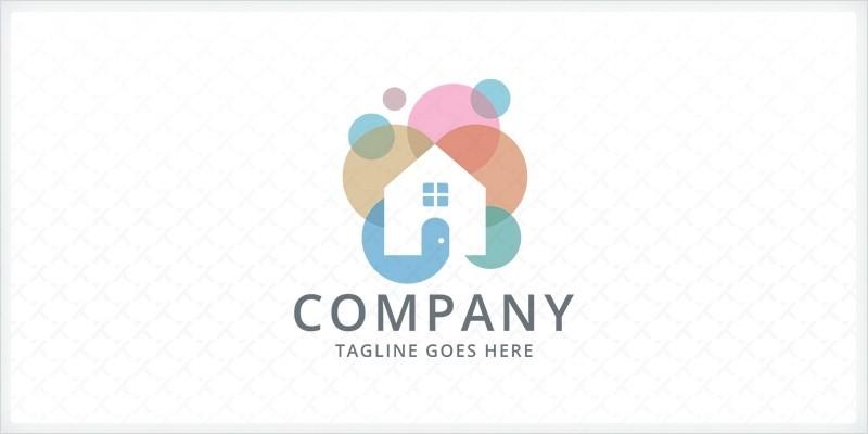 Bubble House - Logo Template