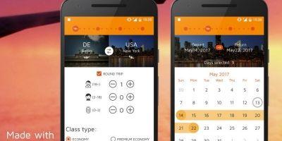 Flight Booking - Android Studio UI Kit