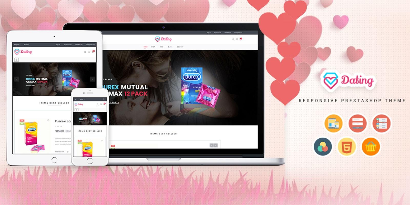 Ap Dating - Prestashop Theme