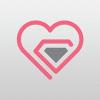 diamond-heart-logo-template