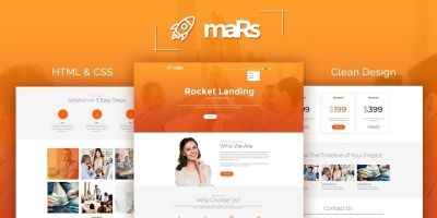 maRs Startup HTML Template