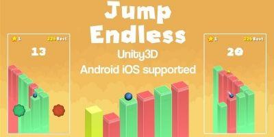 Jump Endless Unity3D Source code