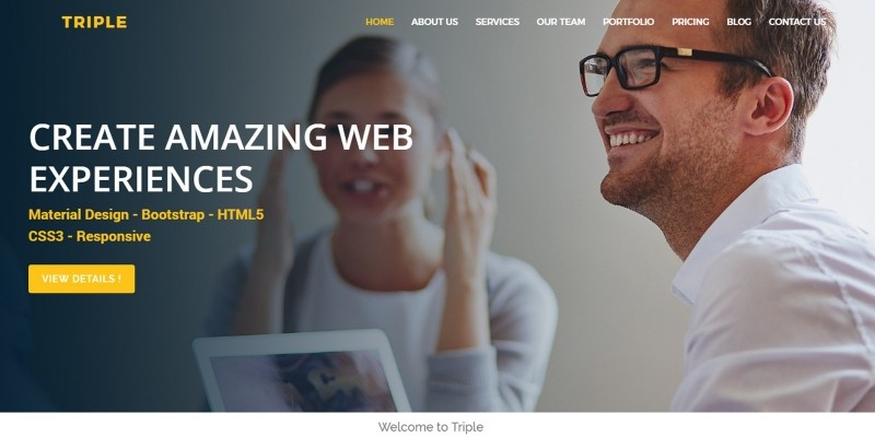 Triple - Multipurpose HTML5 Template
