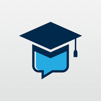 Education Chat Logo Template