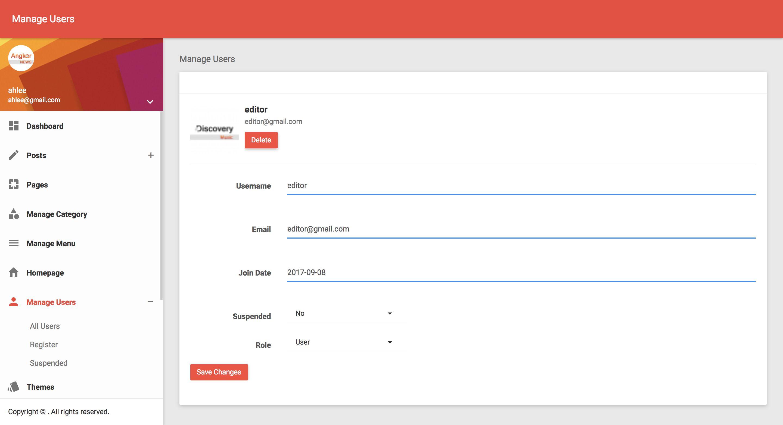 Angkor News - News CMS PHP Screenshot 12