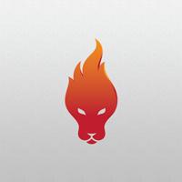 Lion Fire - Logo Template