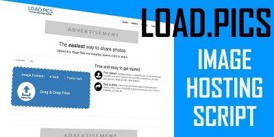 Load Pics - Image Hosting Script