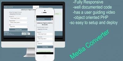 Media Converter PHP Script