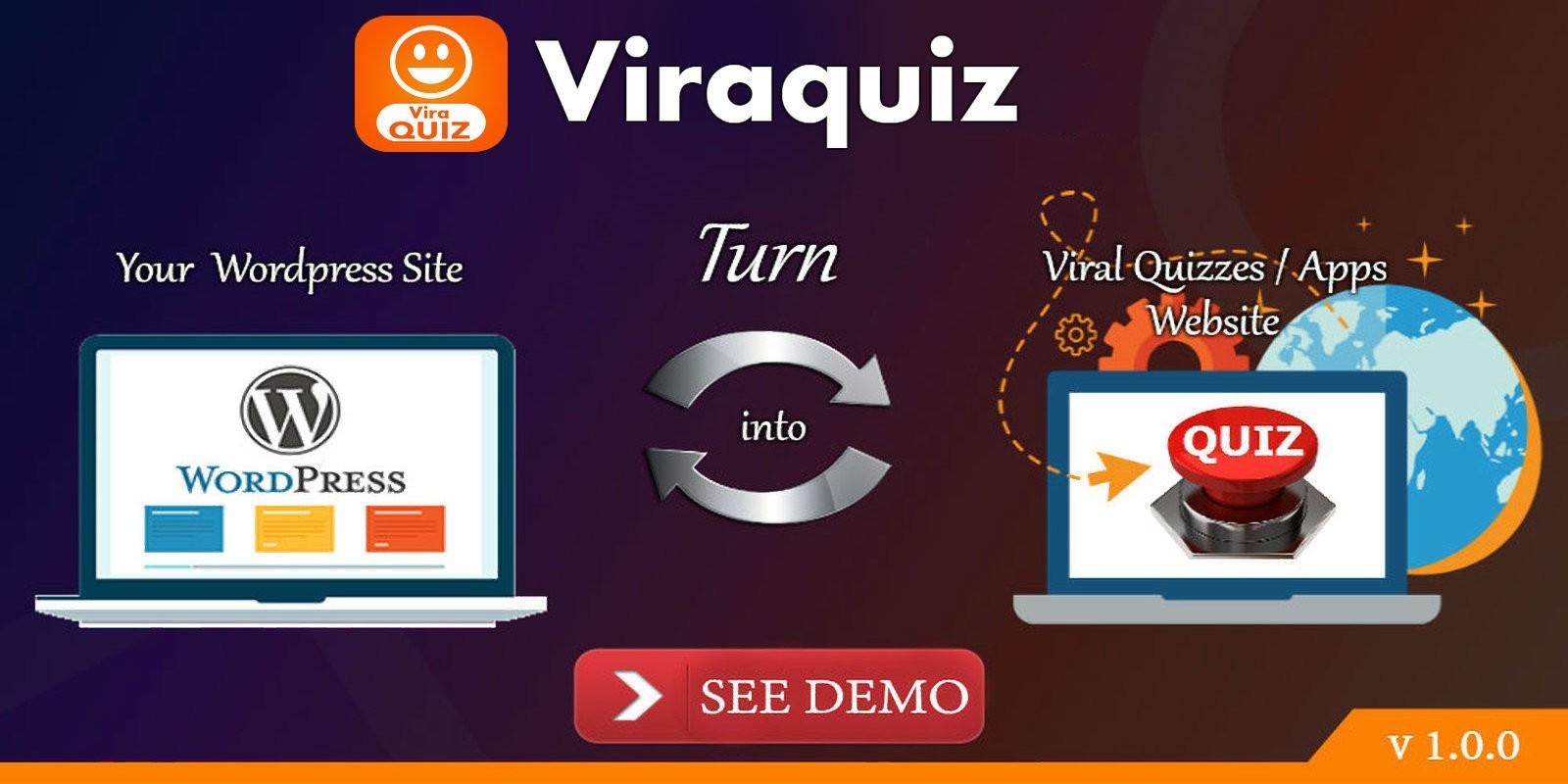 Viraquiz - Viral Facebook Quiz Wordpress Plugin