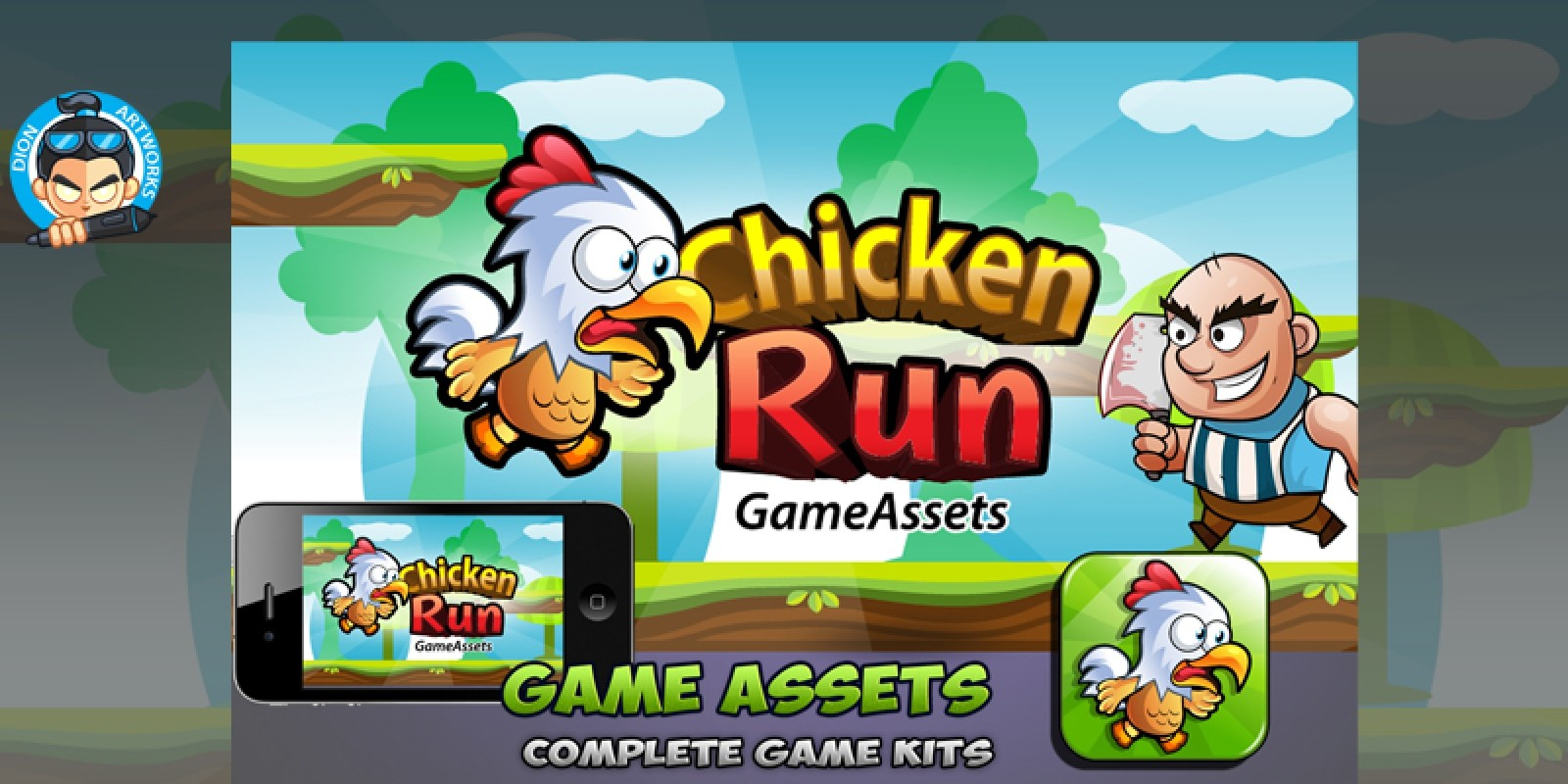 Chicken Run Game Assets