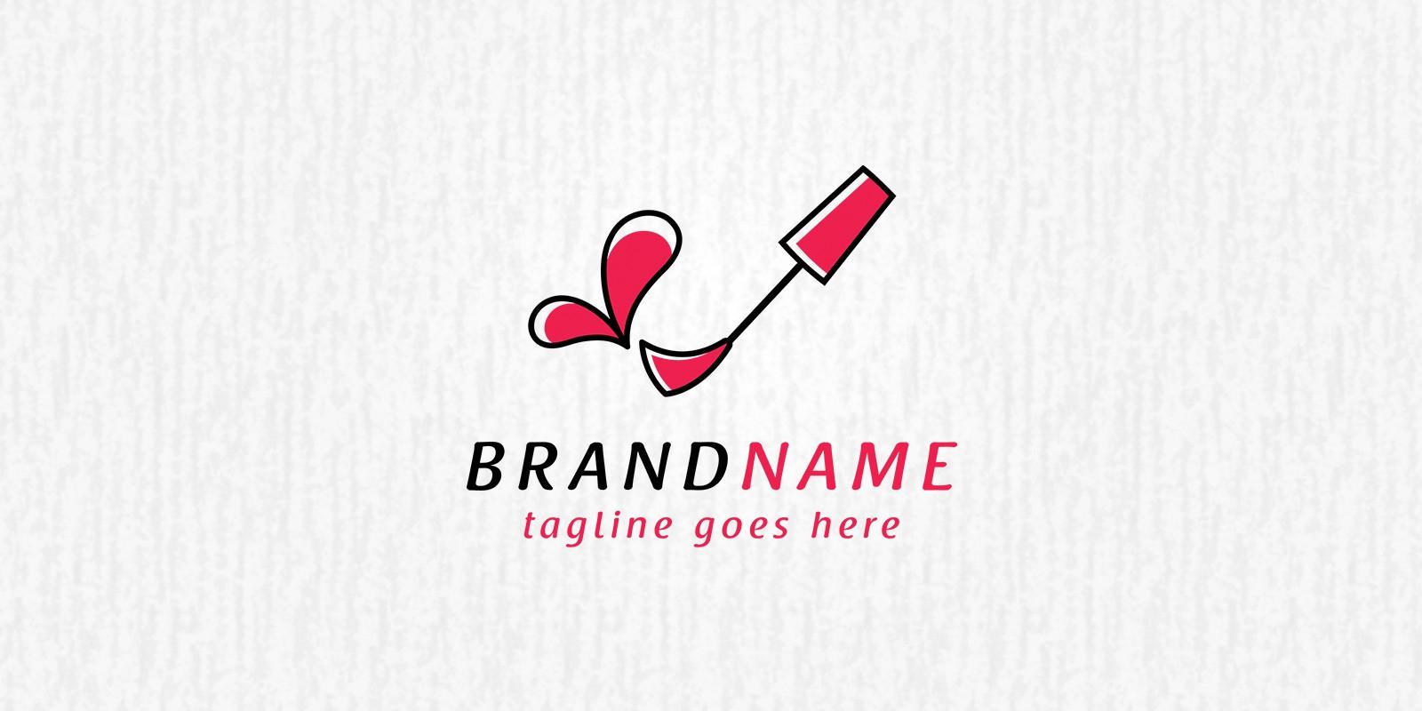 Nail Polish Love - Logo Template