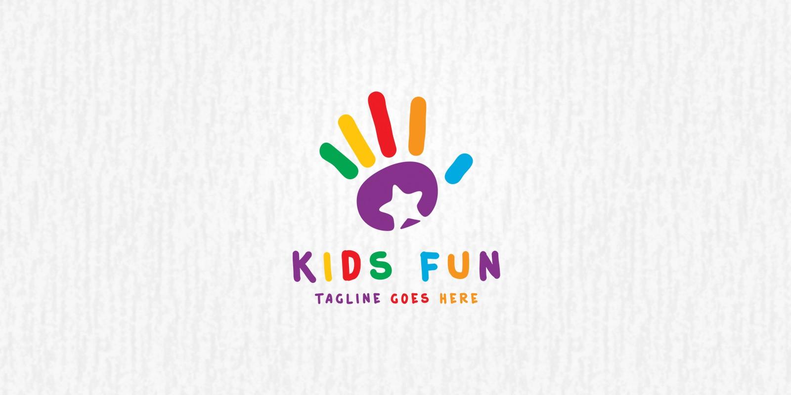 Kids Fun - Logo Template