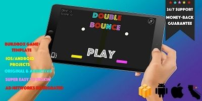 Double Bounce - Buildbox Template