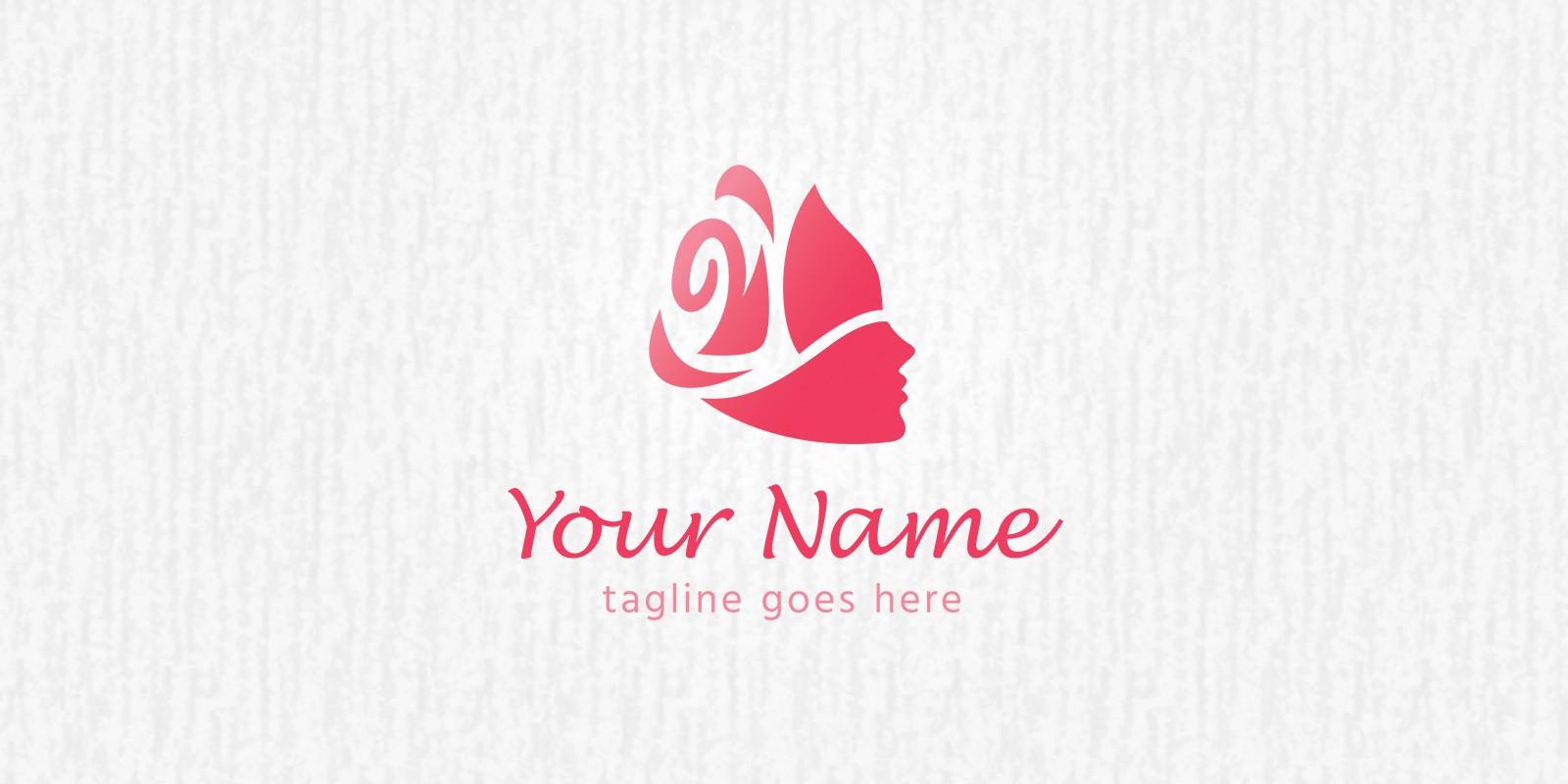 Rose Girl - Logo Template