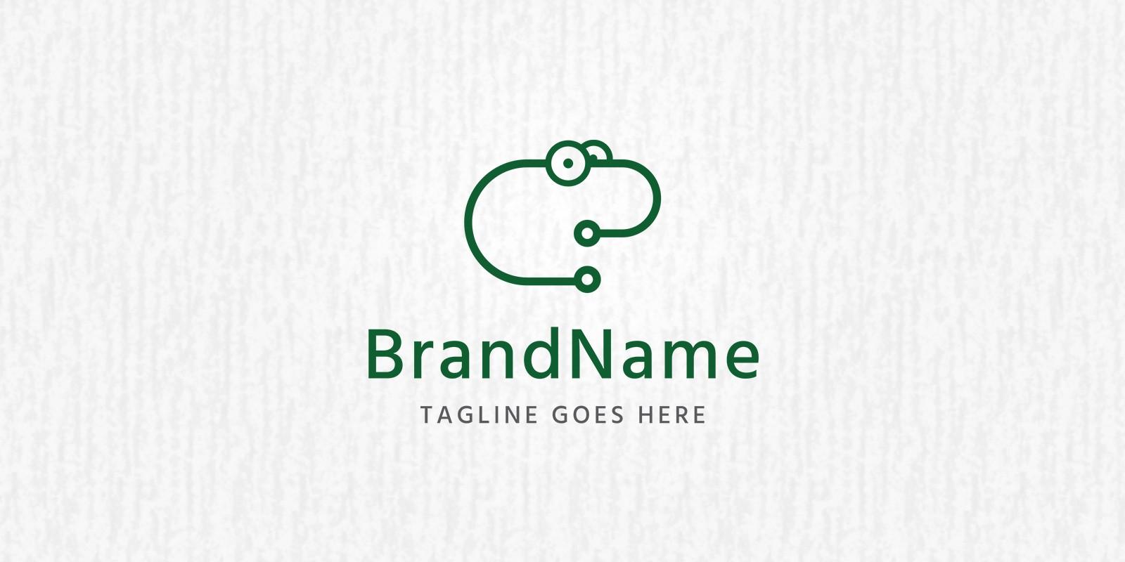 Techno Toad - Logo Template