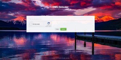 Simple CMS Detector Script