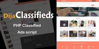 DijaClassifieds - PHP Classifieds Ads Script