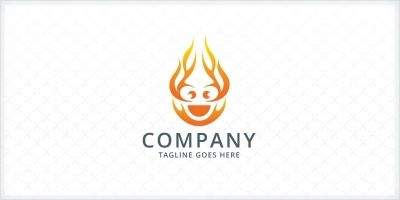 Fire Face Logo