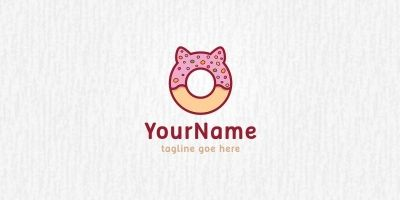Donut Pet - Logo Template