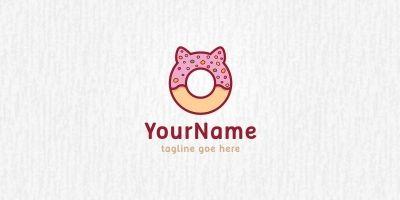 Donut Pet - Logo Template