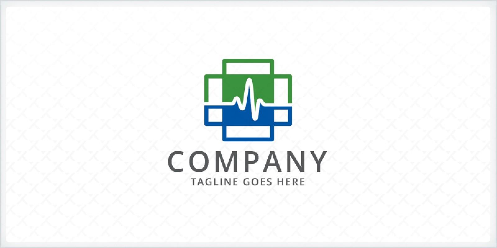 Electrocardiogram - Medical Logo
