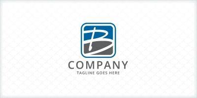 Handwritten Letter B Logo