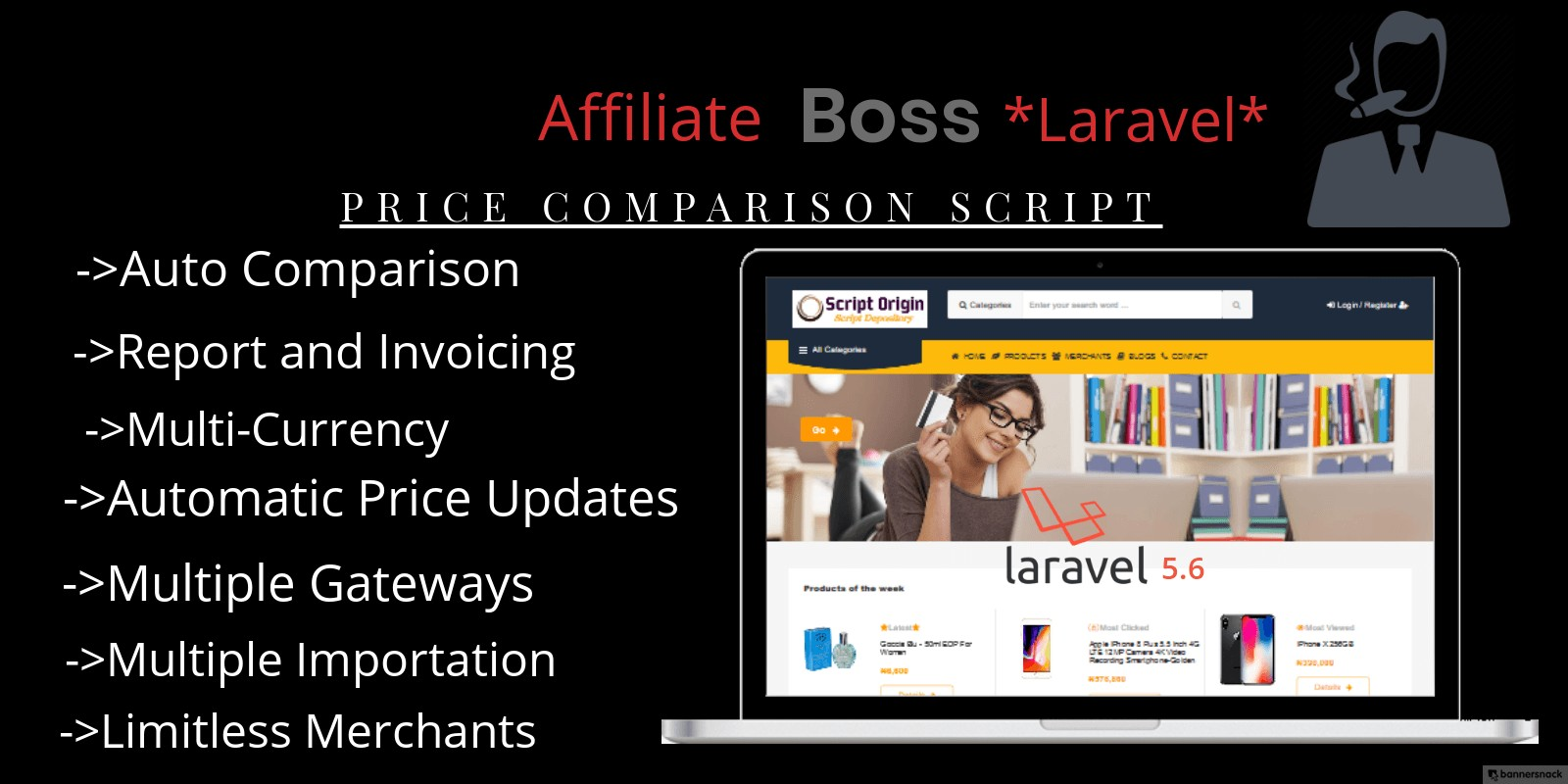 Affiliate Boss Price Comparison PHP Script