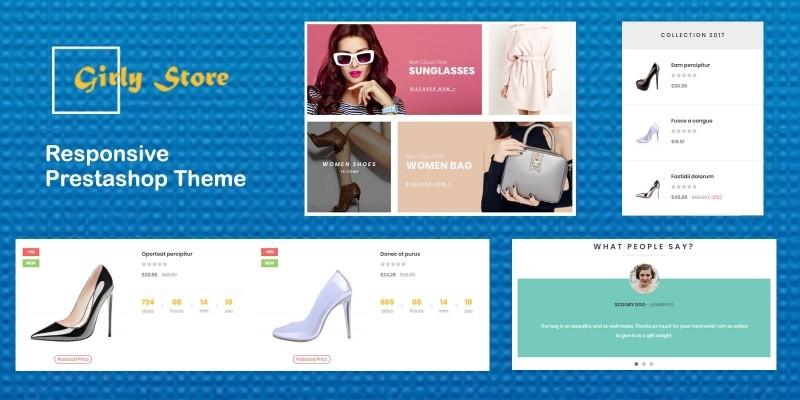 Ap Girly Store - PrestaShop Theme