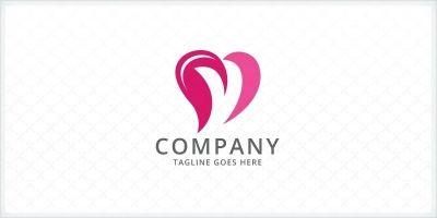Heart - Letter Y Logo