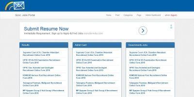 Govt Jobs Portal .NET