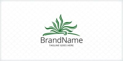 Grass - Lawn Care Logo