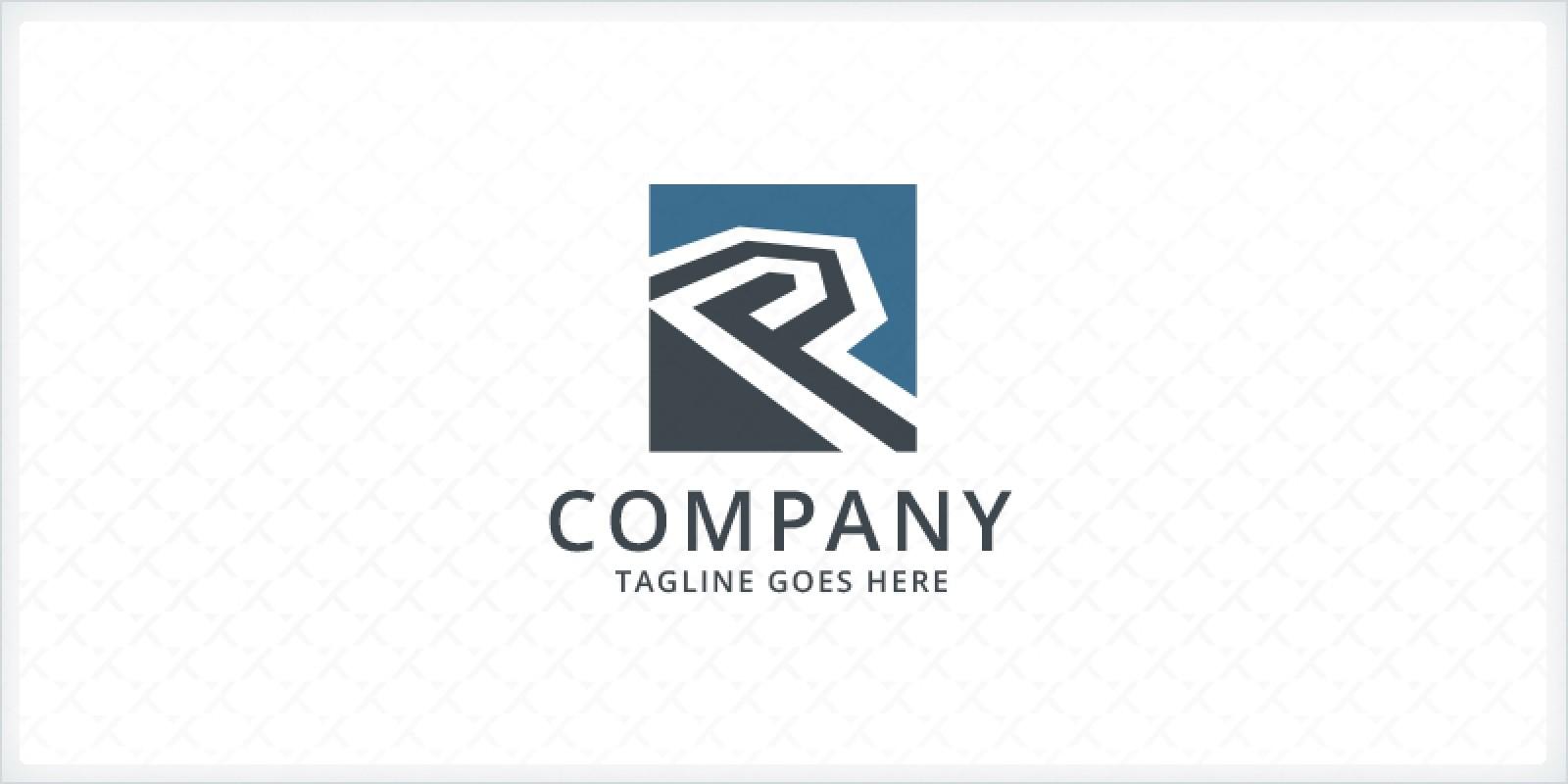Letter P - Real Estate Logo