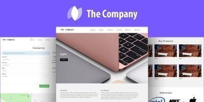 The Company - Business Website CMS