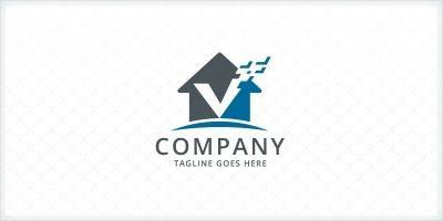 Home Verify - Real Estate Logo