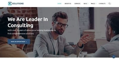 Consulting Business Finance  HTML5 Template