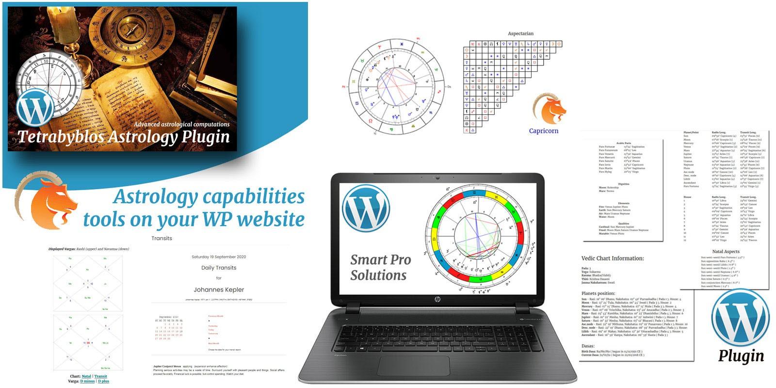 Tetrabyblos - WordPress Plugin For Astrology