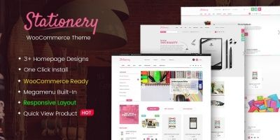 Stationery - Responsive WooCommerce Theme