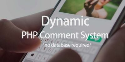 PHP Comment System