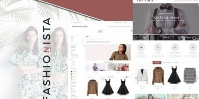 Fashionista Prestashop Theme