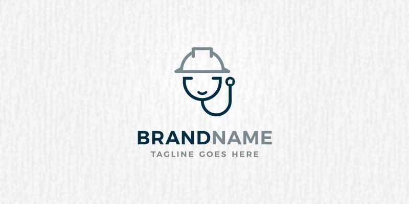 Doctor Architect Logo Template