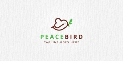 Peace Bird Logo