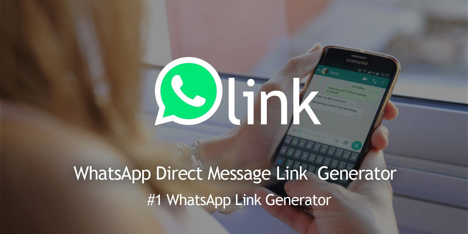WhatsLink - Direct Message Link Generator