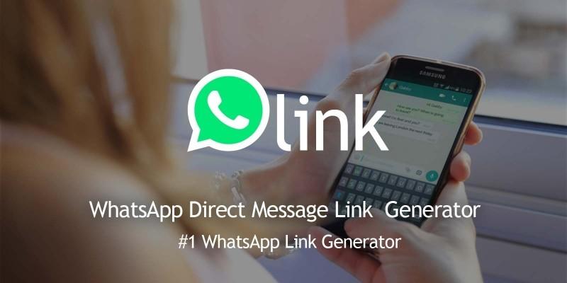 WhatsLink - Direct Message Link Generator