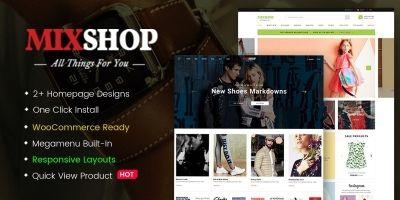 MixShop - Responsive WooCommerce Theme