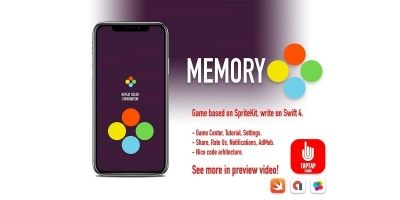 Memory iOS Source Code