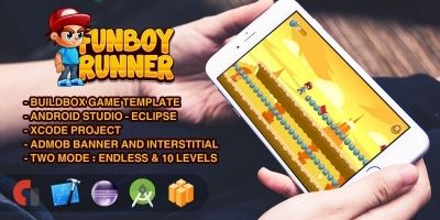 FunBoy Runner - Buildbox Template