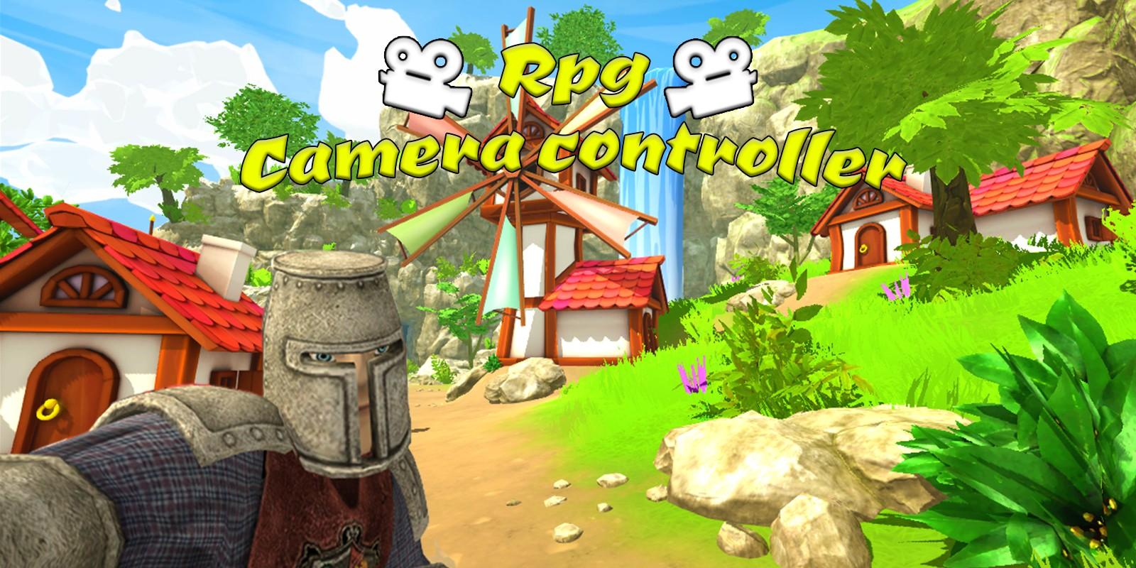RPG Camera Controller Unity