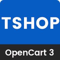 TShop - Multipurpose eCommerce OpenCart 3 Theme