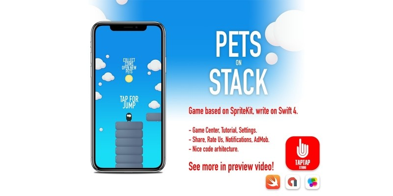 Pets on Stack iOS Source Code