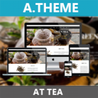 AT Tea –  Responsive Joomla Template